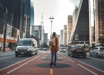 caminhe pelas ruas