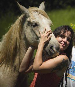 animais resgatados, cavalo Pegasus