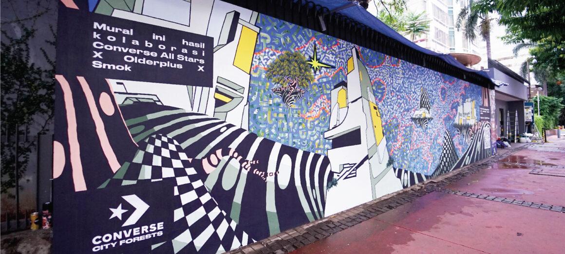 murais que absorvem poluição