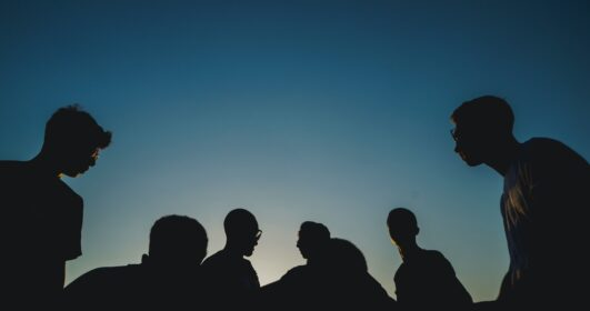 grupo de homens
