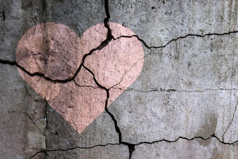corações partidos