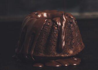 bolo de chocolate